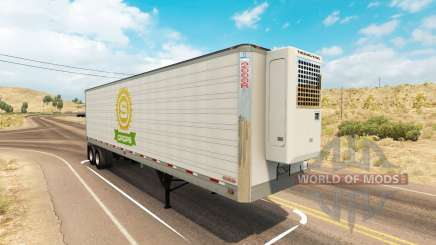 Utility 2000R trailer para American Truck Simulator