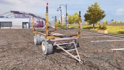 Timber trailer para Farming Simulator 2013
