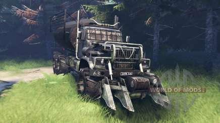 KrAZ 255 Mad Max para Spin Tires