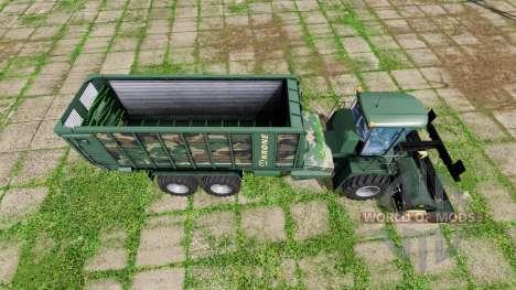 Krone BiG L 500 Camo para Farming Simulator 2017