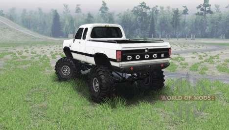 Dodge Power Ram 250 1991 para Spin Tires
