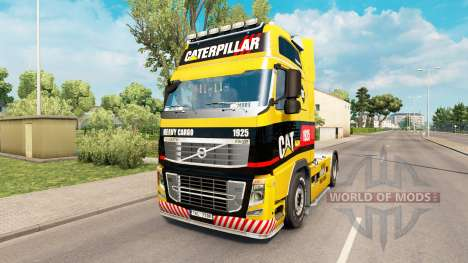 1925 Caterpillar piel para camiones Volvo para Euro Truck Simulator 2