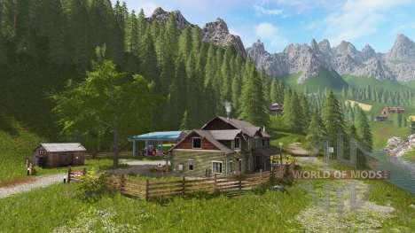 Goldcrest Mountains v2.0 para Farming Simulator 2017