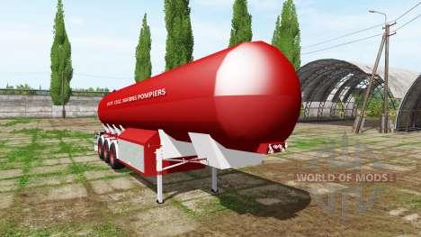 Water trailer para Farming Simulator 2017