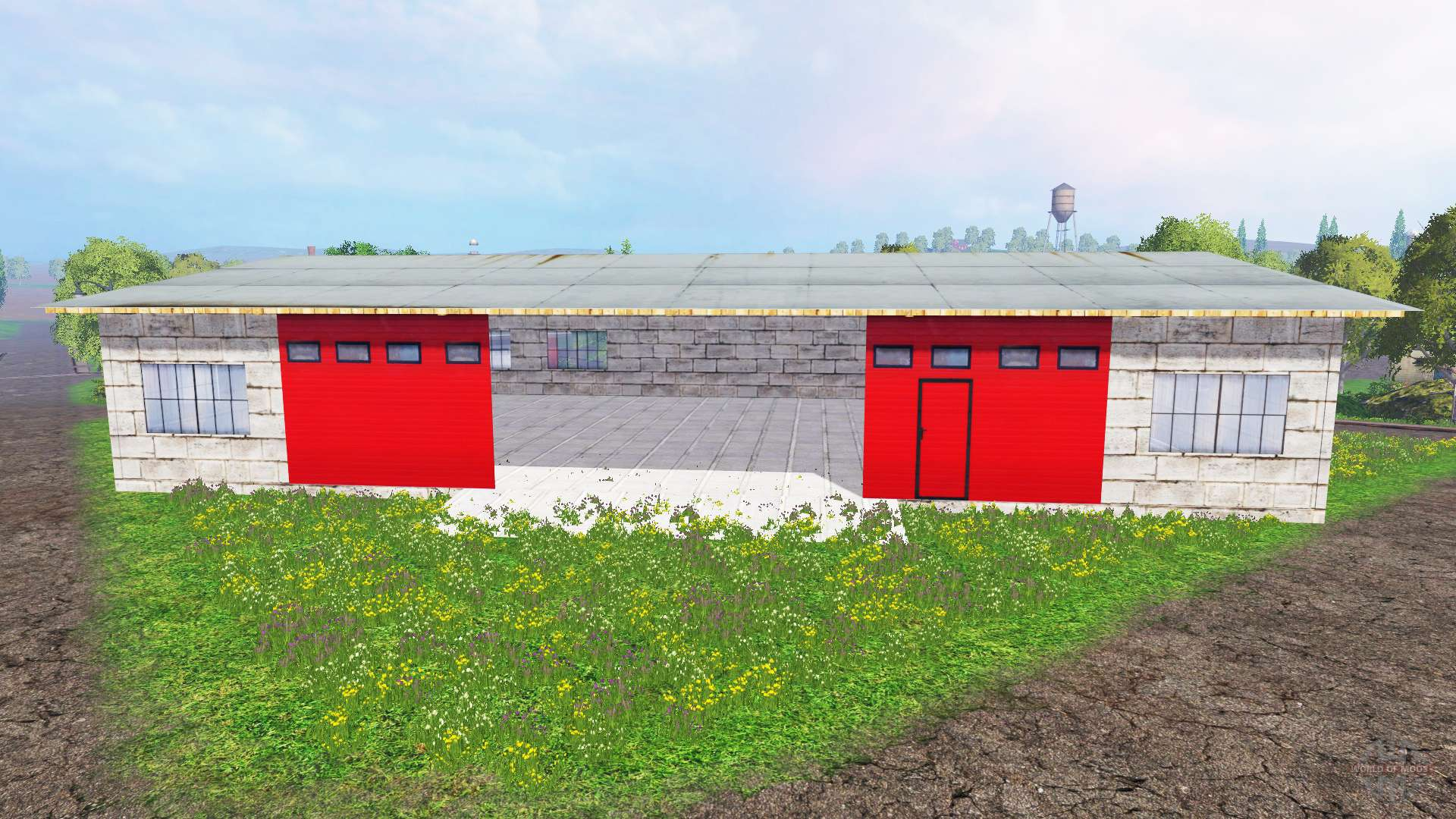 Placeable garage para farming simulator 2015 - Simulador gastos compra plaza garaje ...