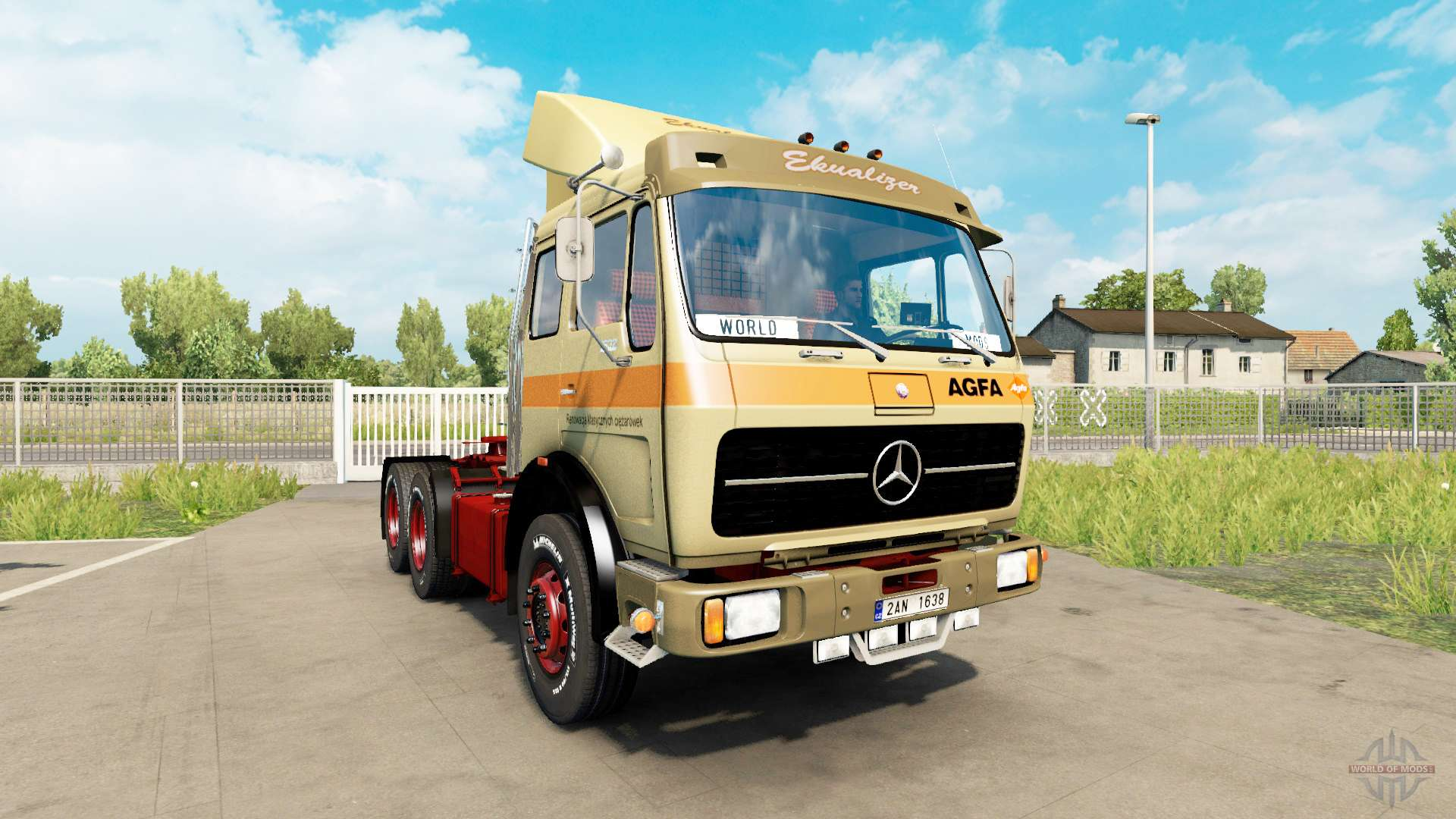 mercedes benz 1632 v1 1 para euro truck simulator 2. Black Bedroom Furniture Sets. Home Design Ideas