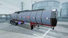 Chrome tanker 3-axle