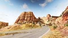 Canyon of speed v1.8 para BeamNG Drive