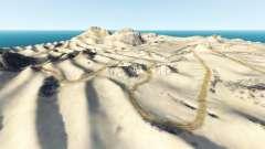 Desert trails v0.1 para BeamNG Drive