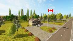 Canadian national map v1.1 para Farming Simulator 2017