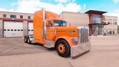 Piel de naranja para el camión Peterbilt 389