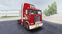 La piel de Little Miss en camión Freightliner FL