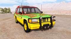 Gavril Roamer Tour Car Jurassic Park v1.0
