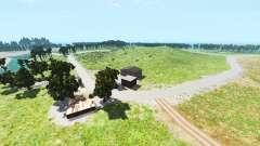 Hillside highway v1.2 para BeamNG Drive