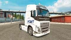 La piel Ekont Express en Volvo trucks