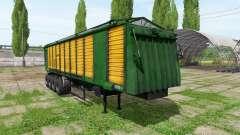 Tipper semitrailer
