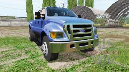 Ford F-650 Super Duty para Farming Simulator 2017