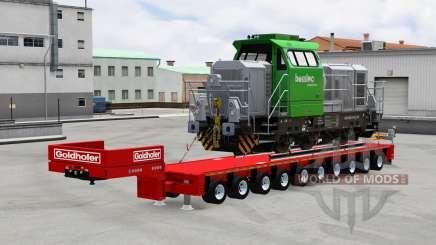 Goldhofer semitrailer para American Truck Simulator