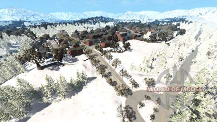 East coast U.S.A winter v4.4 para BeamNG Drive