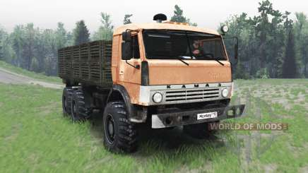 KamAZ 43114 para Spin Tires