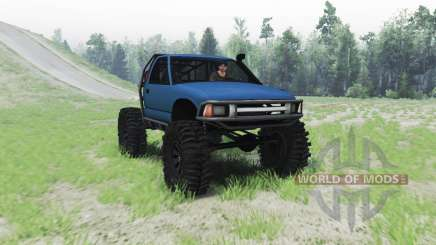 Chevrolet S-10 1996 truggy para Spin Tires