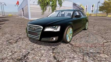 Audi A8 quattro (D4) para Farming Simulator 2013