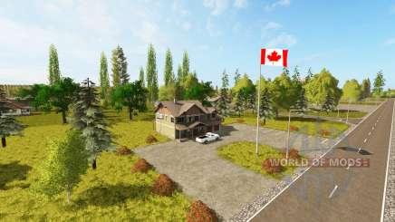 Canadian national map v1.1 para Farming Simulator 2017