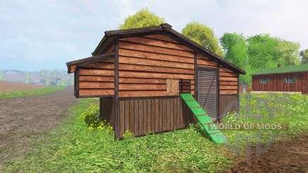 Chicken coop v2.0 para Farming Simulator 2015