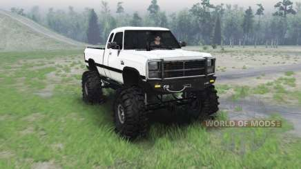 Dodge Power Ram 250 1991 para Spin Tires