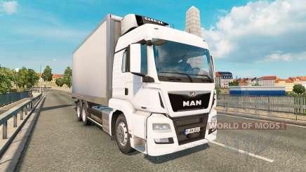 MAN TGS 18.540 Tandem para Euro Truck Simulator 2