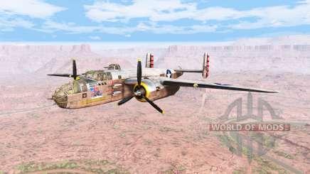 North American B-25 Mitchell v5.2 para BeamNG Drive