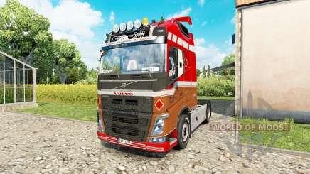 Volvo FH 540 para Euro Truck Simulator 2