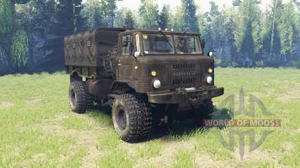 GAZ 66 v4.0 para Spin Tires