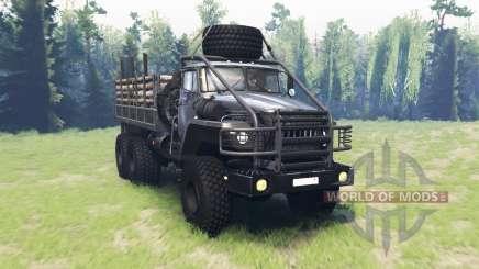 Ural 43260 v2.0 para Spin Tires
