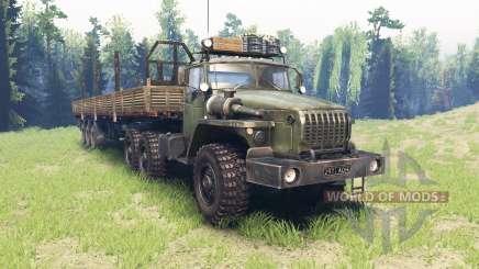 Ural 4320-41 v4.0 para Spin Tires