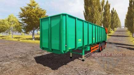 Aguas-Tenias semitrailer v2.0 para Farming Simulator 2013