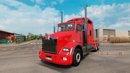 Kenworth T800 v2.2 para Euro Truck Simulator 2
