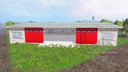 Placeable garage para Farming Simulator 2015