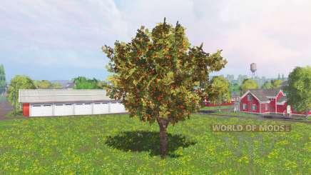 Fruit and berry trees v0.9 para Farming Simulator 2015
