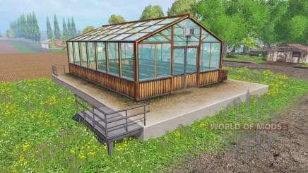 Hemp greenhouse para Farming Simulator 2015