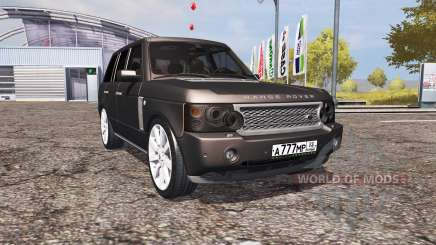 Land Rover Range Rover Supercharged (L322) v2.0 para Farming Simulator 2013