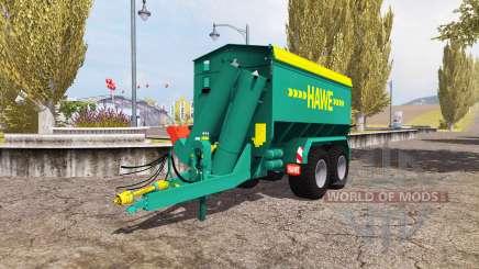 Hawe ULW 2500 T v3.0 para Farming Simulator 2013