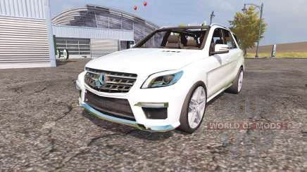 Mercedes-Benz ML 63 AMG (W166) para Farming Simulator 2013