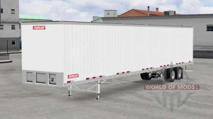 De metal semi-remolque Fruehauf para American Truck Simulator
