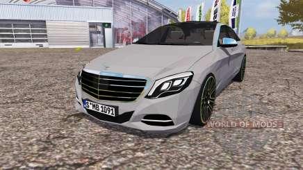 Mercedes-Benz S 350 (V222) 2014 para Farming Simulator 2013