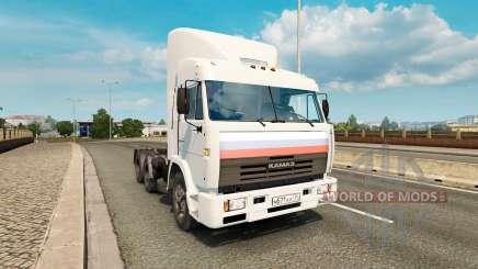KamAZ 54115 V1.0 para Euro Truck Simulator 2