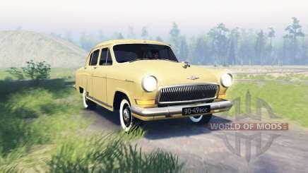 GAZ 21 Volga para Spin Tires