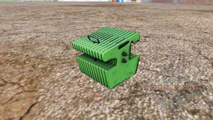 Weight John Deere para Farming Simulator 2015
