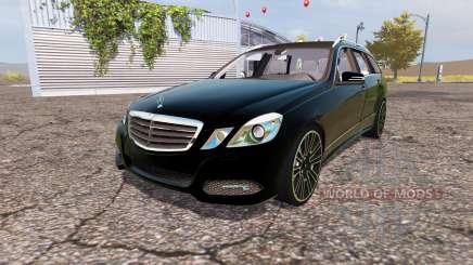 Mercedes-Benz E-Klasse Estate (S212) v2.0 para Farming Simulator 2013