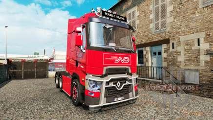 Renault T v4.3 para Euro Truck Simulator 2